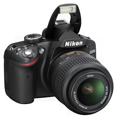 Цифровая зеркальная фотокамера nikon d3200